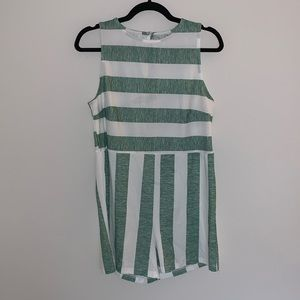 ZAFUL Lightweight Stripped Romper